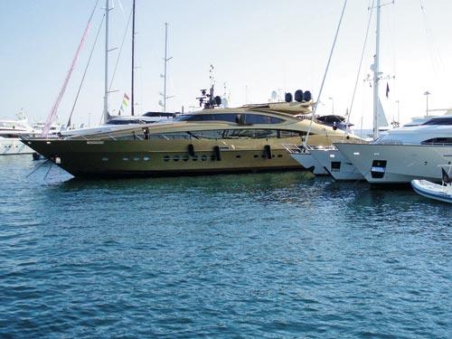 PJ150 motoryacht