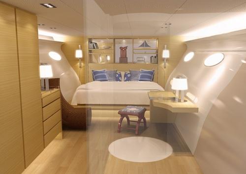Adastra's interior by Jaspen Design