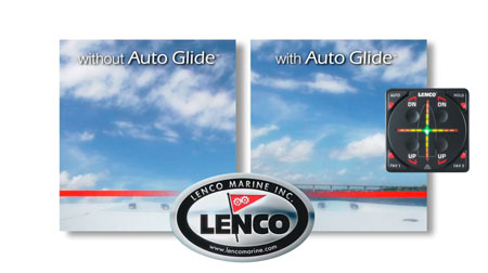 With and without Auto Glide